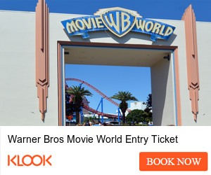 Warner Bros Movie World Entry Ticket
