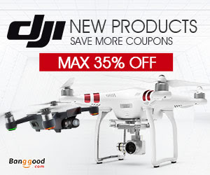 banggood.com - 72 hours Anniversary Deals – DJI up to 35% OFF!