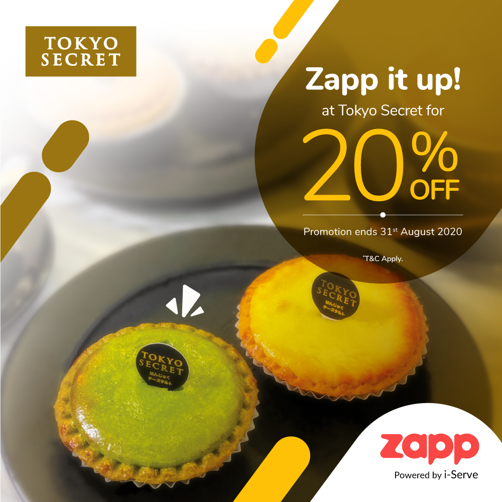 apps.apple.com - 20% OFF at Tokyo Secret