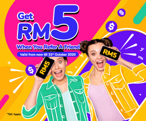 apps.apple.com - Get RM5 When you refer a friend