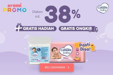 orami.co.id - Cussons disc up to 38%