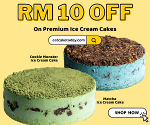 eatcaketoday.com - RM10 Off On Premium Ice Cream Cake