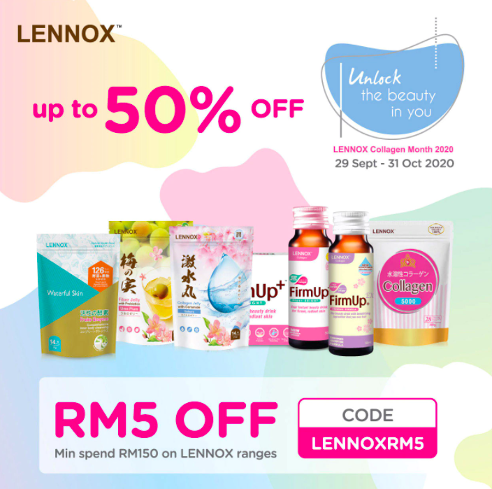 watsons.com.my - Lennox  Up to 50% off