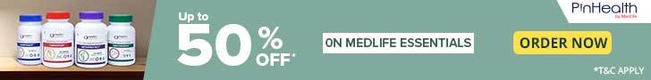 medlife.com - Medlife Essentials: 50% Off!