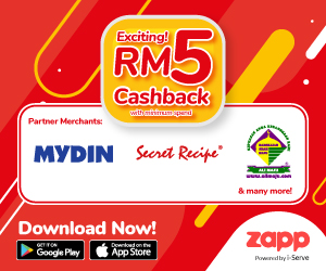 apps.apple.com - RM5 Cashback