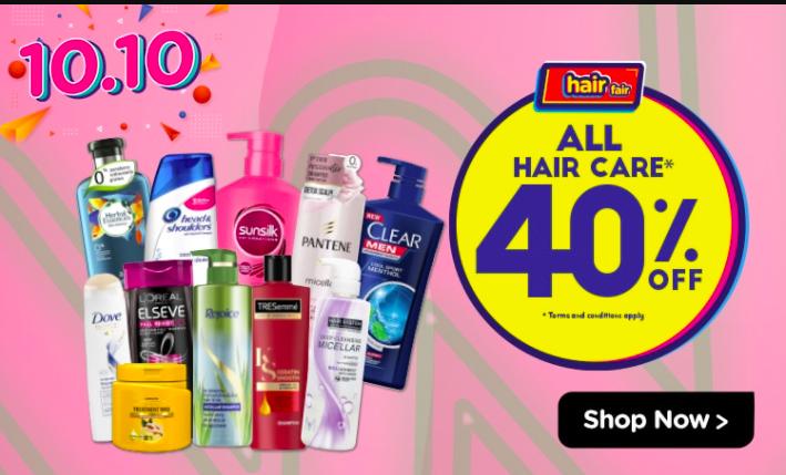 watsons.com.my - Kaw Kaw Hair Fair All hair care 40% OFF