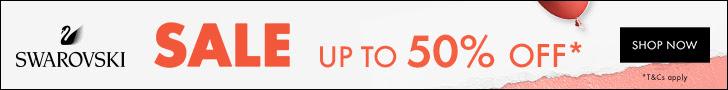 swarovski.com - (SG) Up to 50% for Winter Sale
