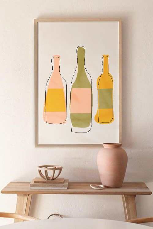 A Bottle of 3 Poster