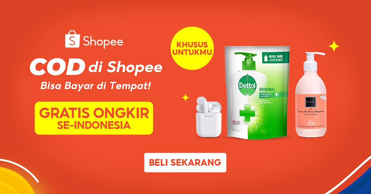 Promo COD Shopee