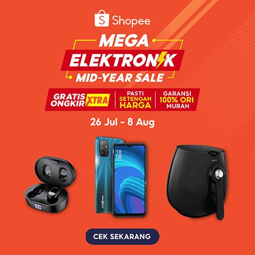Shopee - Mega Elektronik Mid-Year Sale