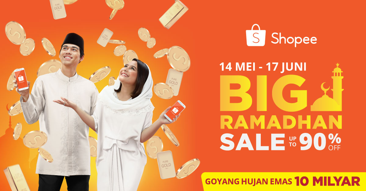 BIG Ramadhan Sale Up to 90% Shopee