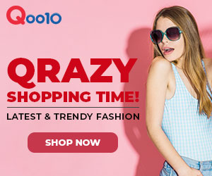 Qoo10 Qrazy Fashion Shopping Time