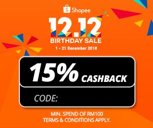Shopee 12 12 Birthday Thank You Sale Promo Code 2018