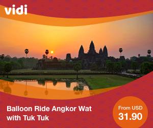 Balloon Ride Angkor Wat