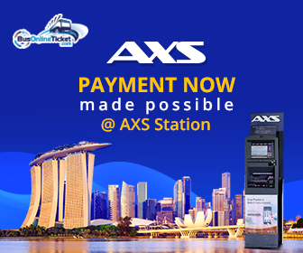 Bus Tickets Booking at Singapore AXS Stations