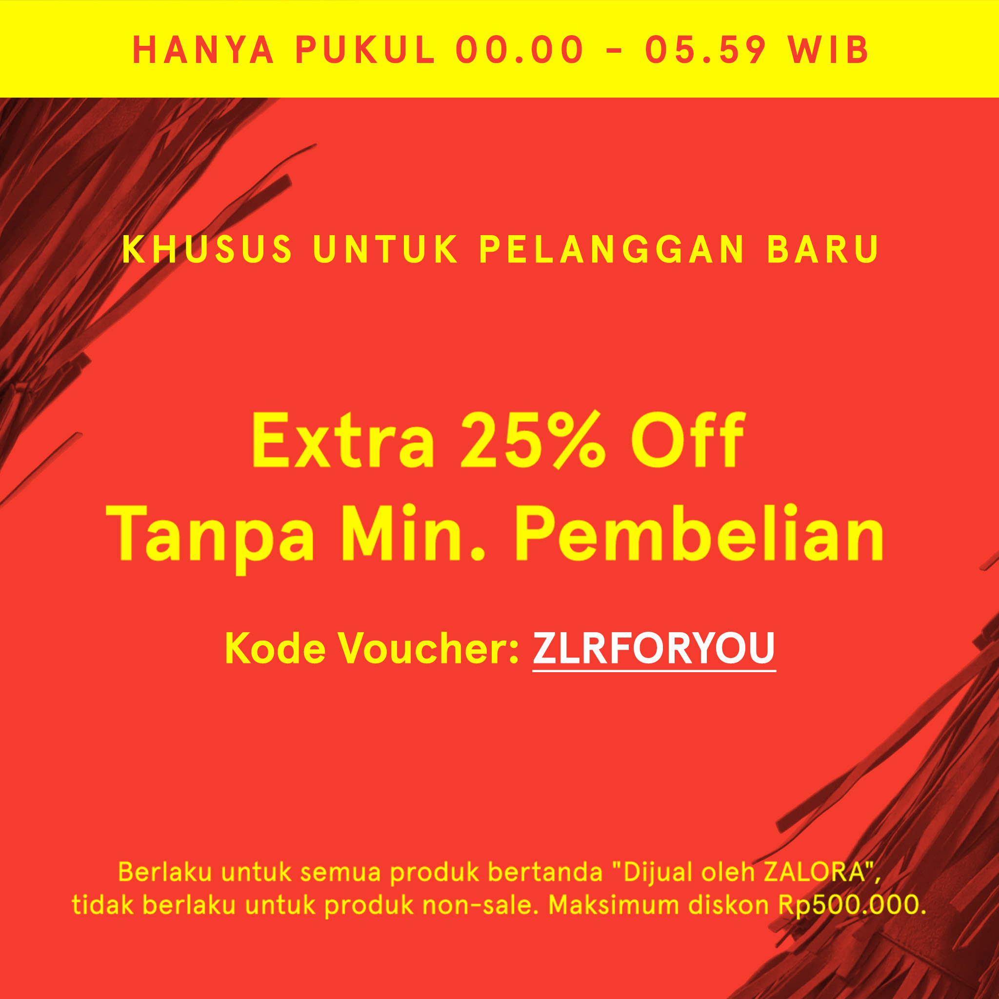 Extra 25% off Zalora Indonesia!