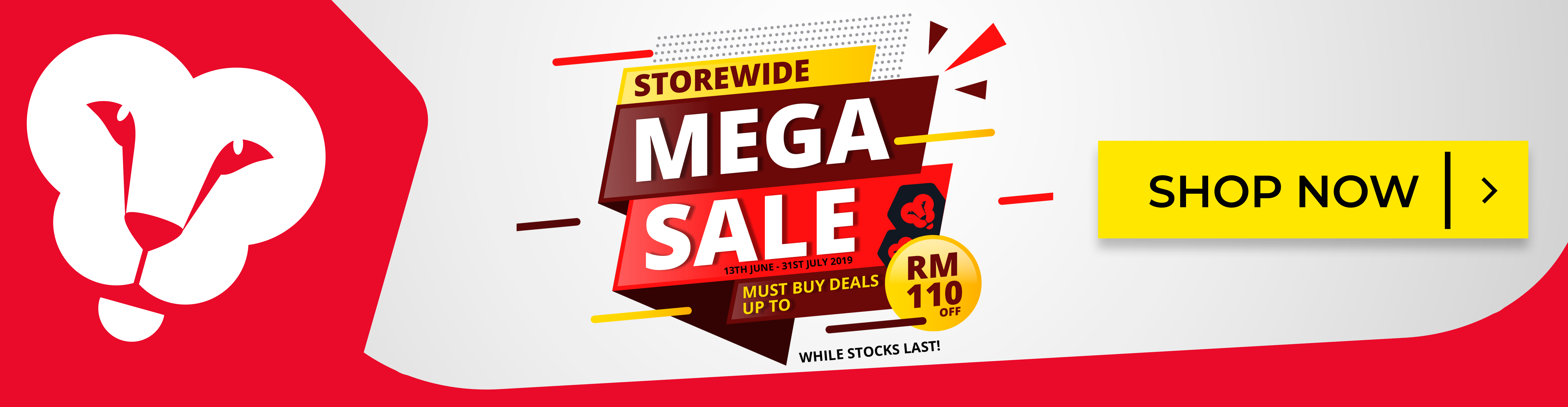 The Fitlion Storewide Mega Sales