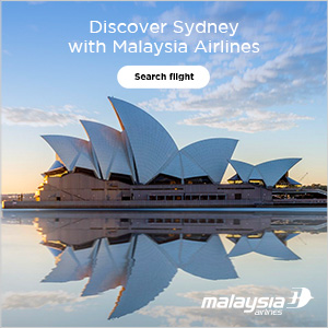 Asia Urban Malaysia Airlines - Sydney Route