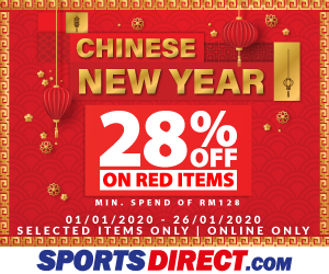 Sports Direct Chinese New Year