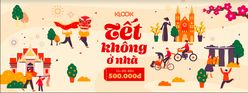 klook.com - VN 2020 Tet Campaign