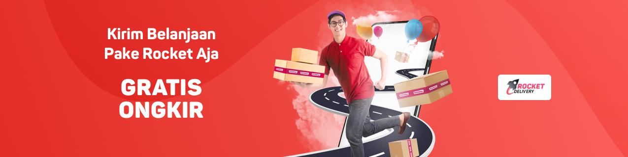 play.google.com - Belanja di Bulan Februari, Gratis Ongkir dengan Rocket Delivery