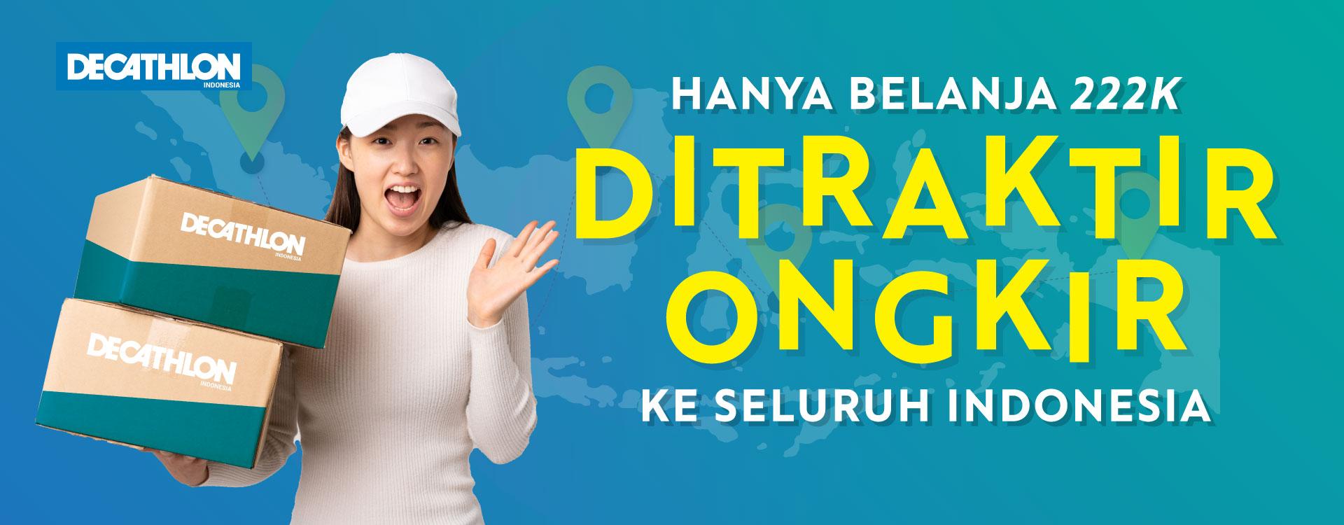 gratis ongkir se indonesia