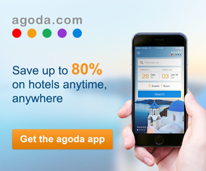 agoda.com - 300×250 – (EN) Save Up to 80% on Hotels Anytime, Anywhere!