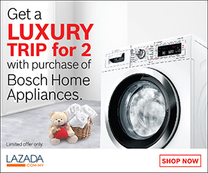 Get a Luxury Trip for 2 purchase of Bosch Home Appliance
