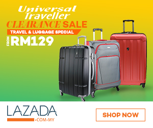 Universal Traveller Clearance Sale - From RM129