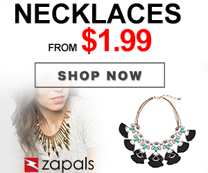 Necklaces from $1.99 Shop Now