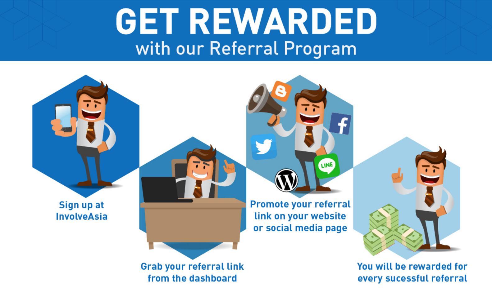 InvolveAsia Referral Program
